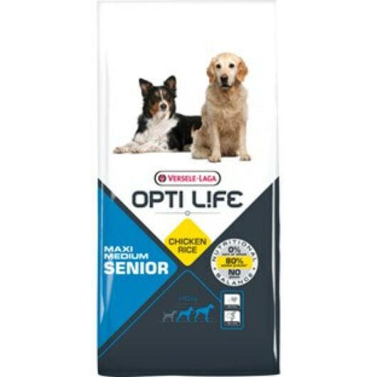 Versele Opti Life Senior Medium & Maxi kutyatáp 12,5 kg