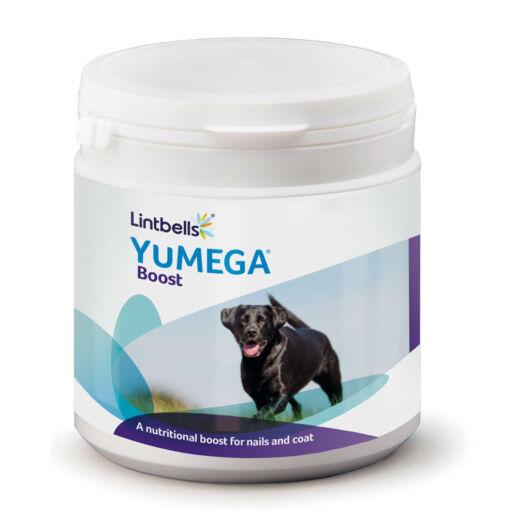 Lintbells YuMEGA,YuDERM Boost - Körömerősítés, szőrnövekedés serkentő - 180 kanál