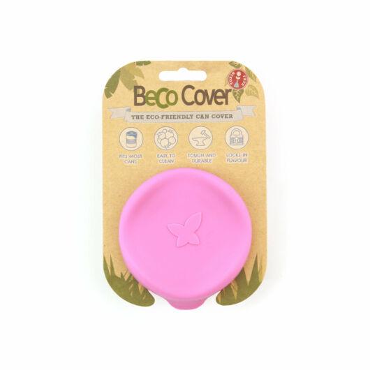 Beco Pets- Méreganyagmentes Konzerv Fedő Rózsaszín