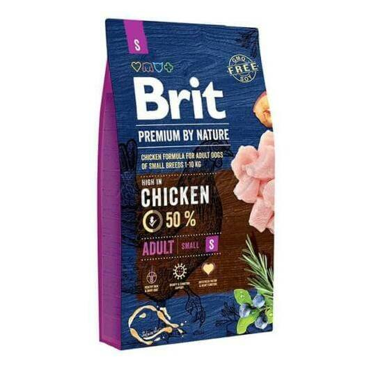 Brit Premium by Nature Adult Small 3kg