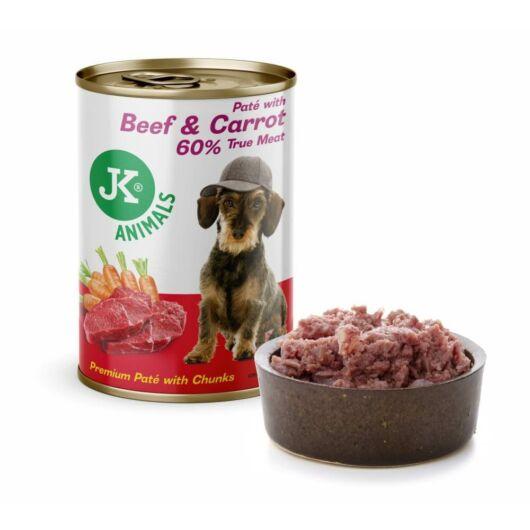 JK Marha, sárgarépa prémium pástétom 60% hús tartalommal 400g