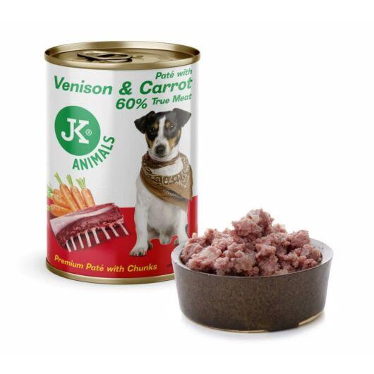JK vadhús, sárgarépa prémium pástétom, 60% hústartalommal 400g