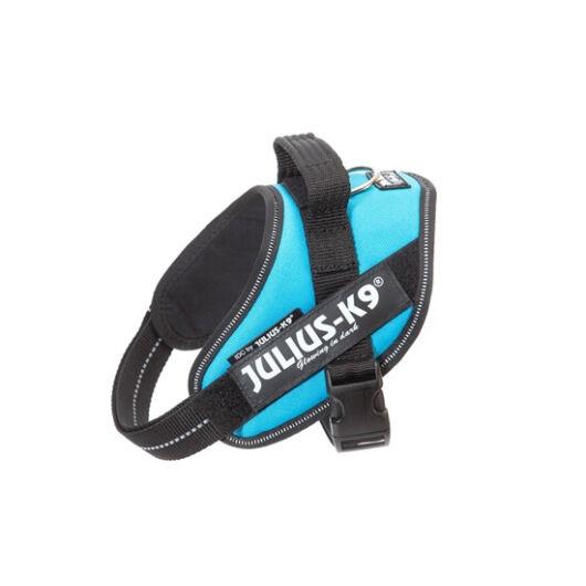 """Julius-K9 IDC Powerhám, felirattal, Mini-Mini """"Aquamarine"""""""