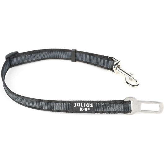 Julius k9 Biztonsági öv adapter - 10-25 kg közötti kutyáknak szürke