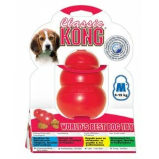 Játék Kong Classic Harang Piros Nagy