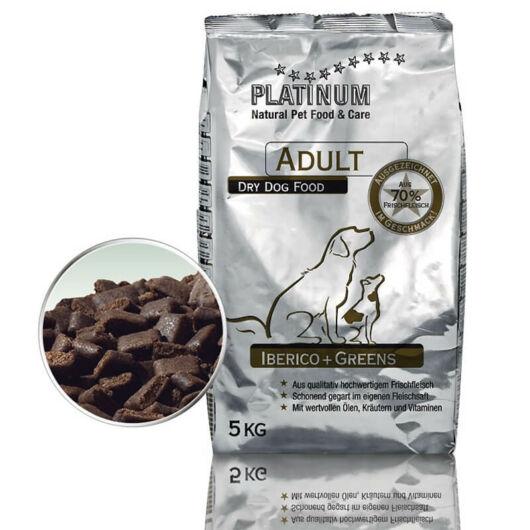Platinum Natural Adult Iberico & Greens 2x5kg