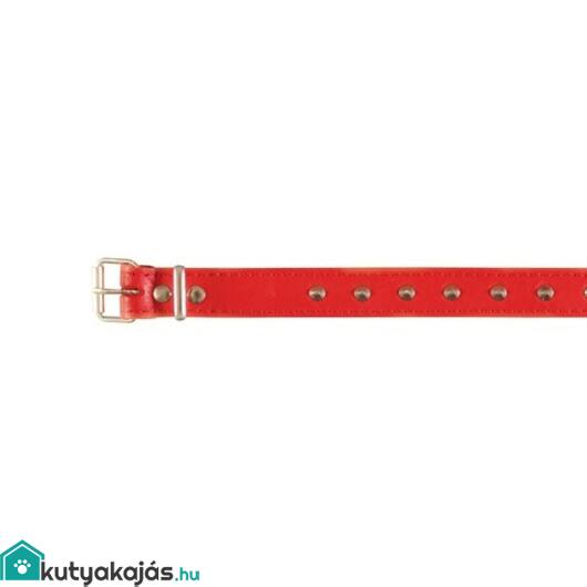 Trixie Nyakörv Bőr Basic Xs S 2630cm/12mm Piros
