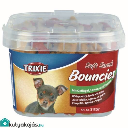 Trixie Jutalomfalat Bouncies Vödrös 140gr