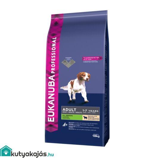 Eukanuba Adult Small & Medium Lamb & Rice kutyatáp 2x18kg