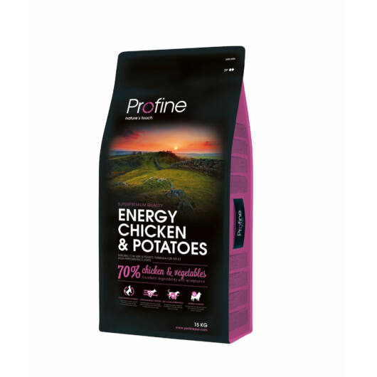 Profine Energy Chicken & Potatoes 15 kg kutyatáp