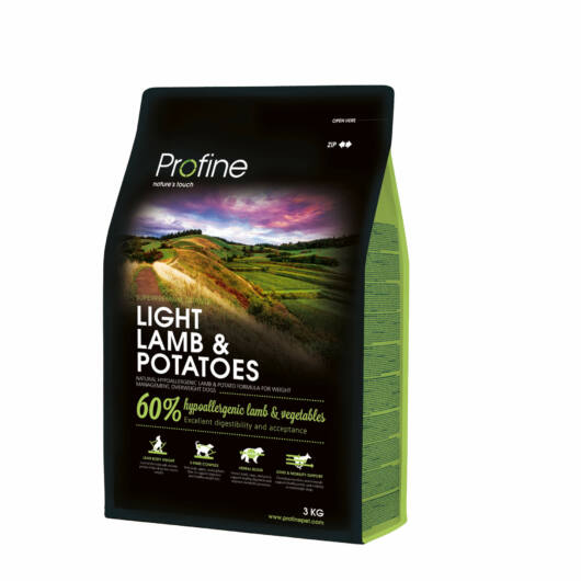 Profine Light Lamb & Potatoes 3 kg kutyatáp