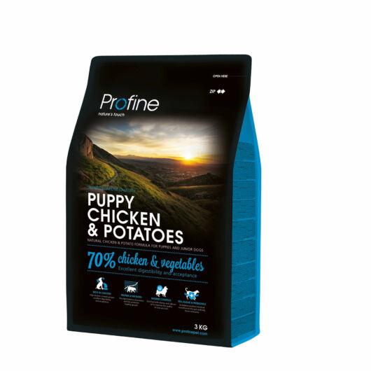 Profine Puppy Chicken & Potatoes 3 kg kutyatáp