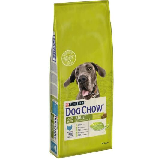 dog chow adult large pulyka