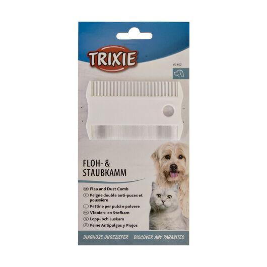 Trixie Fésű Műanyag 2 Oldalas Bolha És Tetű 9cm