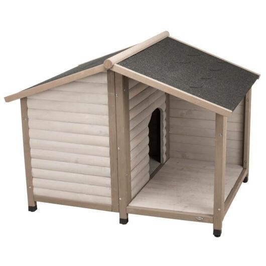 Trixie Kutyaház Lodge Nyeregtetővel M-L 130x100x105 cm Szürke