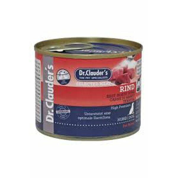 Dr.Clauders Dog Konzerv Selected Meat Marha 200g