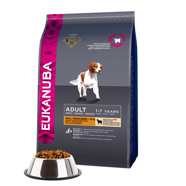 Eukanuba Adult Lamb & Rice Small & Medium 1kg kutyatáp