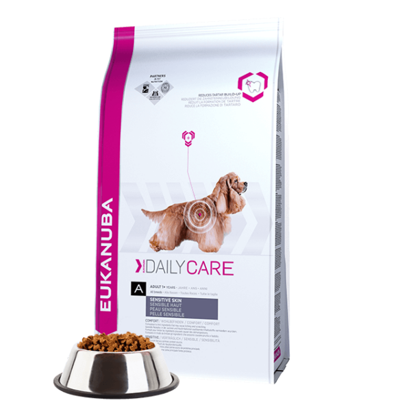 Eukanuba Daily Care Sensitive Skin 2,3kg kutyatáp