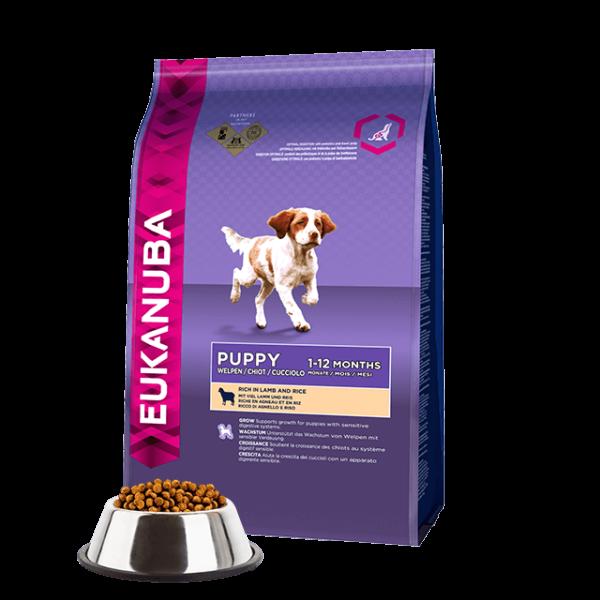 Eukanuba Puppy Lamb & Rice 1kg kutyatáp