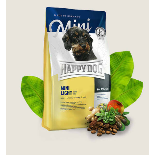 Happy Dog Mini Light Low fat 1 kg kutyatáp