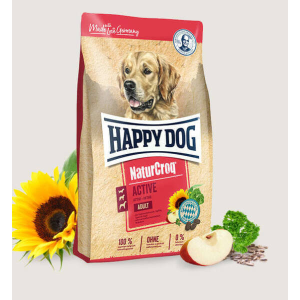 Happy Dog NaturCroq Active 15 kg kutyatáp
