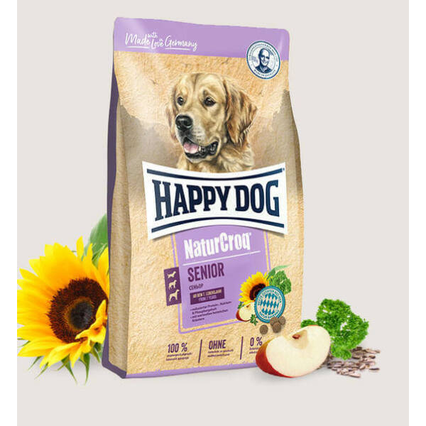 Happy Dog NaturCroq Senior 15 kg kutyatáp