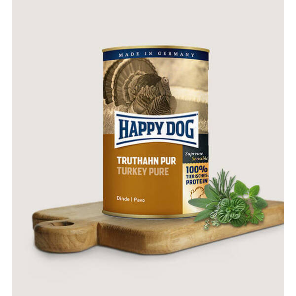 Happy Dog Truthahn Pur (Pulyka) 200 gr