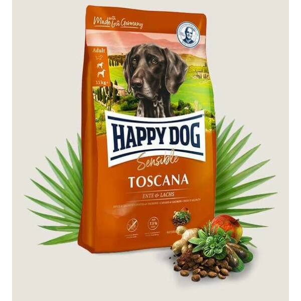 Happy Dog Supreme Toscana 1kg kutyatáp