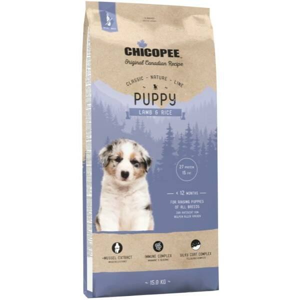 Chicopee CNL Puppy Lamb & Rice 15kg