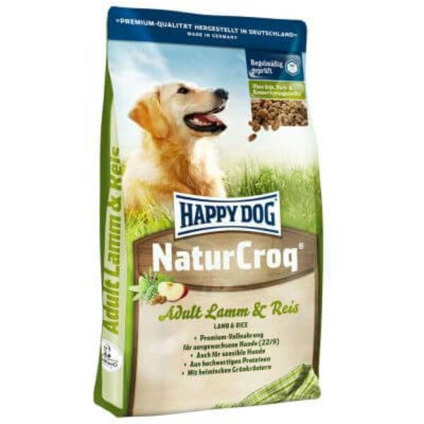 Happy Dog NaturCroq Lamm/Reis (Bárány & rízs) 2x15 kg kutyatáp
