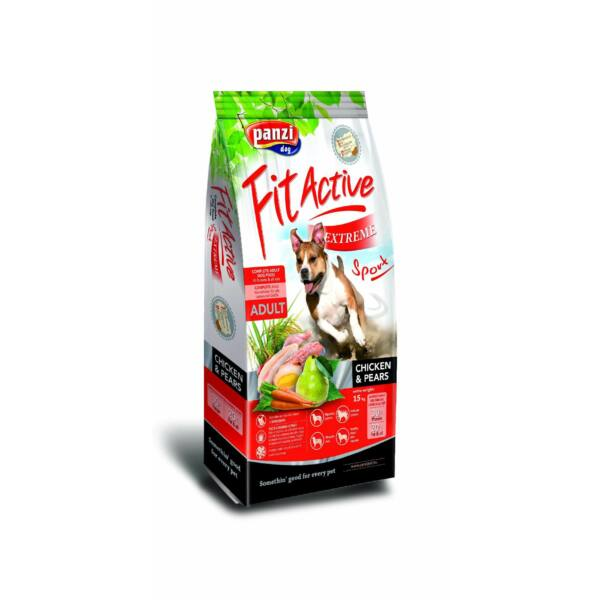 Panzi FitActive Extreme Sport Chicken & Pears 15 kg