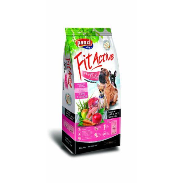 Panzi FitActive Puppy & Junior Lamb, Apple & Rice 15 kg