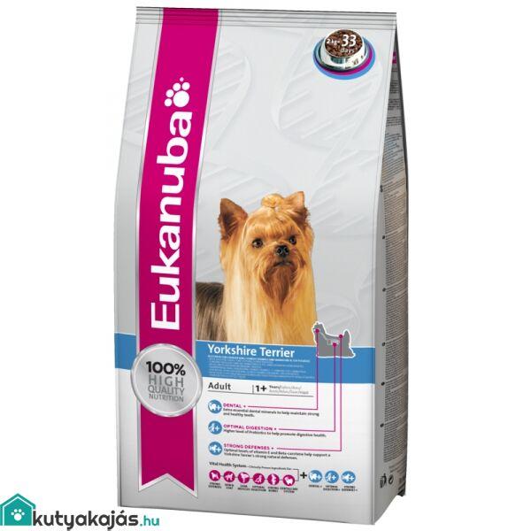 Eukanuba Breed Yorkshire Terrier  2kg kutyatáp