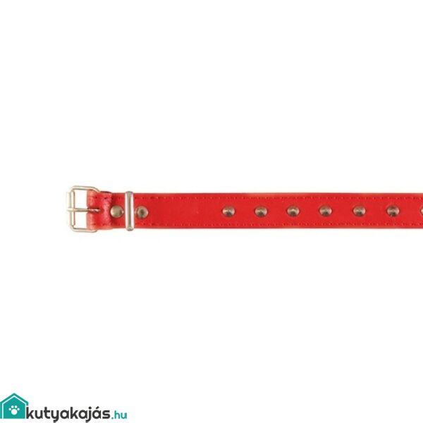 Trixie Nyakörv Bőr Basic SM 3339cm/16mm Piros