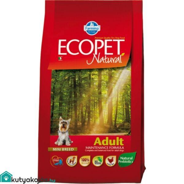 Ecopet Natural Adult Mini 2,5kg kutyatáp