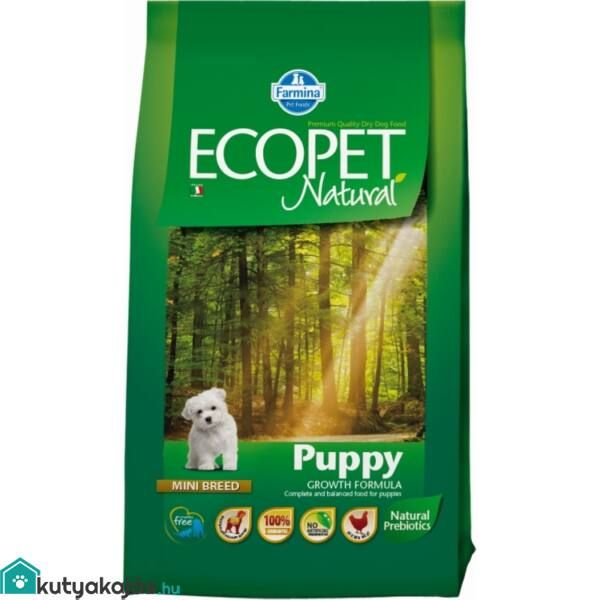 Ecopet Natural Puppy Mini 14kg kutyatáp