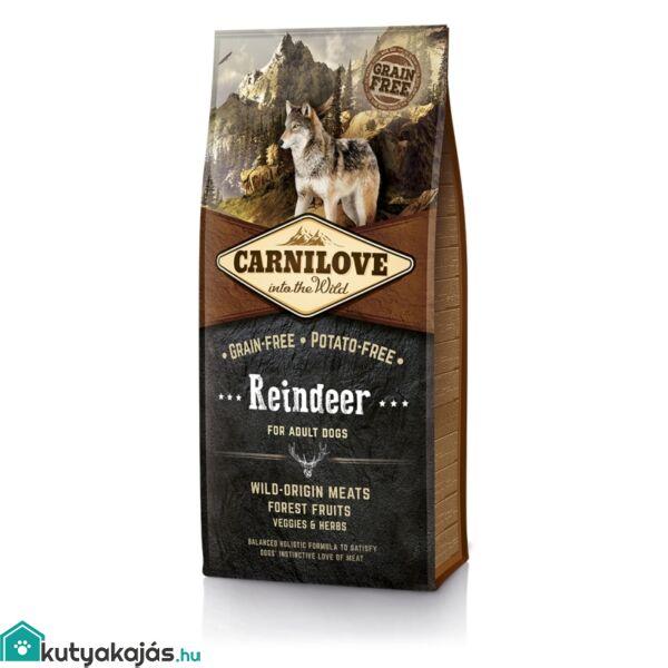 CarniLove Adult Rénszarvas 2x 12kg kutyatáp