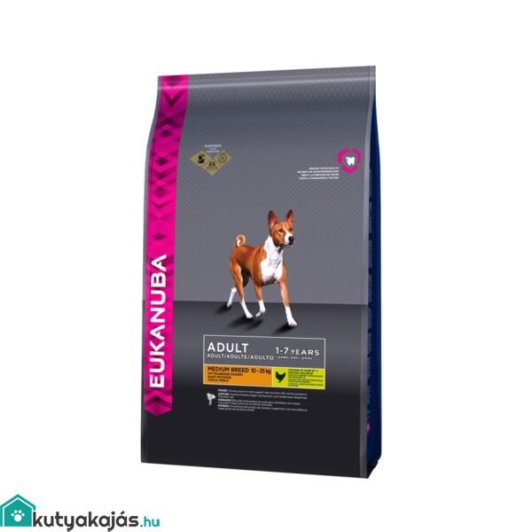 Eukanuba Adult Medium 15kg kutyatáp