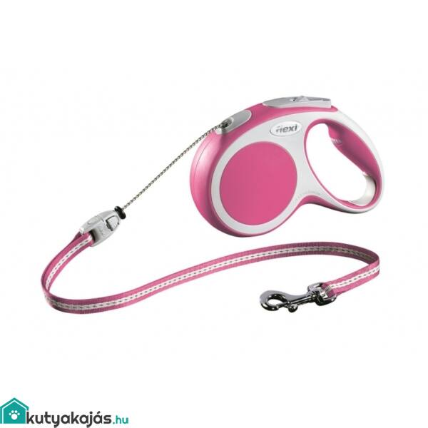 Flexi Vario S 5m Zsinóros Pink 12kgIg