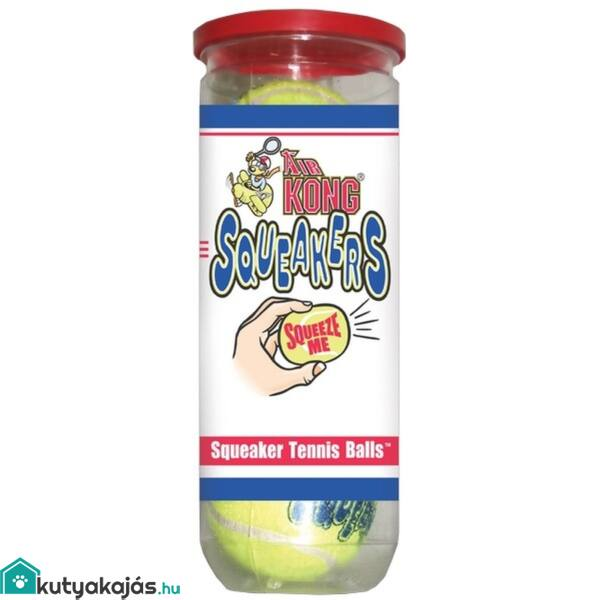Játék Kong Squeakair Balls Tenisz Labda M 3db