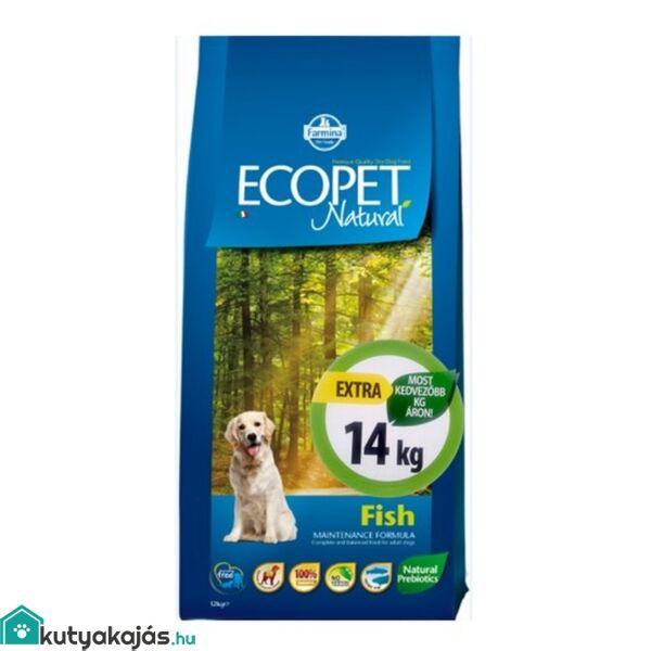 Ecopet Natural Fish Medium 14kg kutyatáp